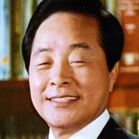 김영삼 웃는 표정