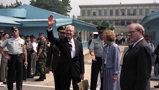 지미카터전미국대통령방북