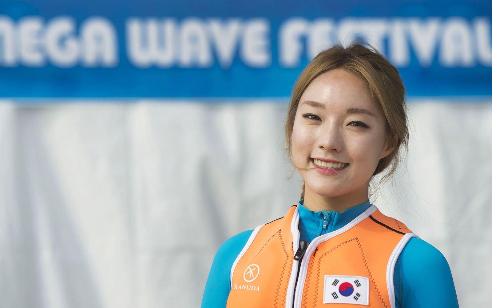 올초 세계 플라잉보드 선수권 대회 1위에 오른 박진민 선수. [사진 에버랜드]