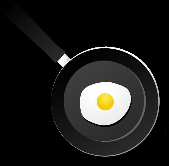 프라이팬 계란