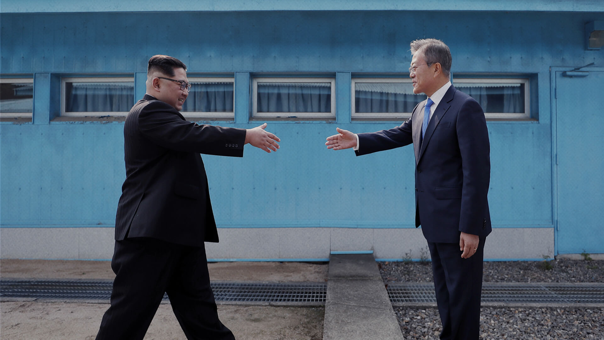 1차 남·북 판문점 정상회담 사진