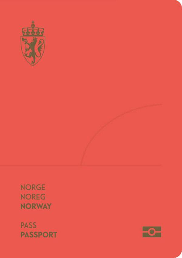 노르웨이 여권 표지